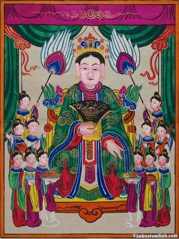 Mẫu Thượng Ngàn - Bà Chúa Thượng Ngàn - Mẫu đệ nhị-1