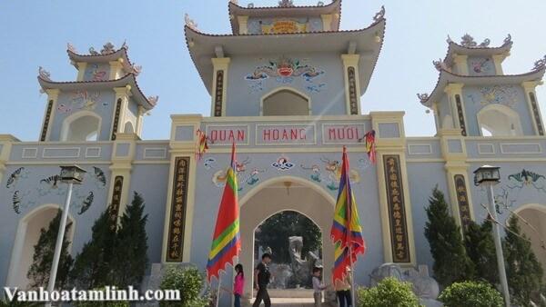 Đền Cả - Mỏ Hạc Linh Từ - Dinh đô quan Hoàng Mười
