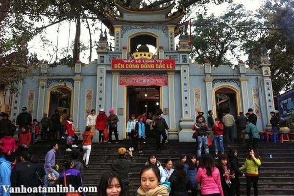Đền Công Đồng Bắc Lệ ở Lạng Sơn