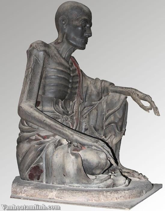 Tượng Tuyết Sơn và bộ tượng Di Lặc Tam Tôn ở chùa Tây Phương-1