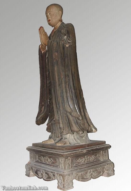 Tượng Tuyết Sơn và bộ tượng Di Lặc Tam Tôn ở chùa Tây Phương-3