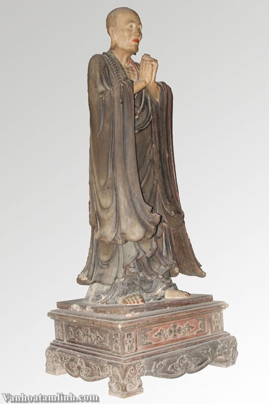Tượng Tuyết Sơn và bộ tượng Di Lặc Tam Tôn ở chùa Tây Phương-4