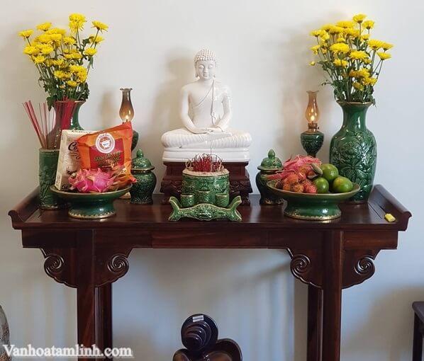 Bàn thờ Phật tại gia