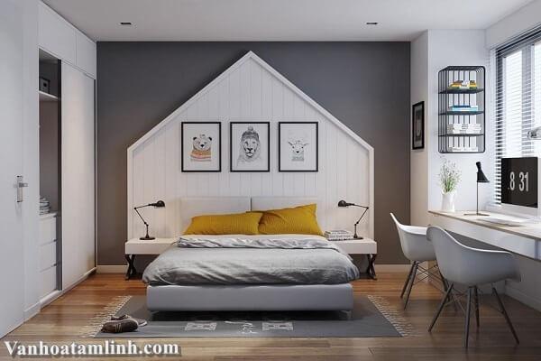 Nguyên tắc đặt giường ngủ theo phong thuỷ