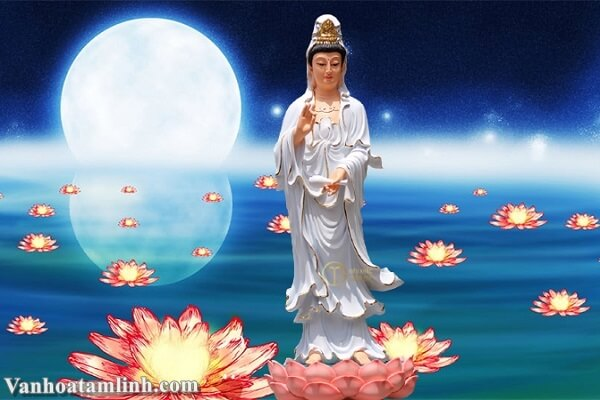 Văn khấn Phật Bà Quan Thế Âm Bồ Tát