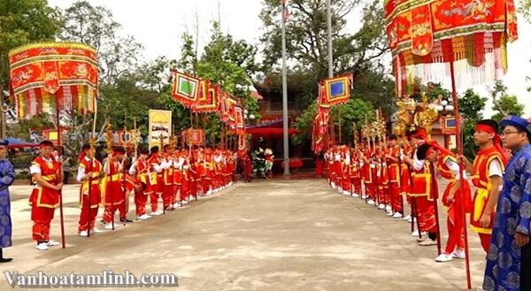 Đền Mẫu Ỷ La ở Tuyên Quang